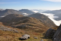 Heading off along Meall nan Spardan ridge (Paul Sammonds) Tags: morar knoydart