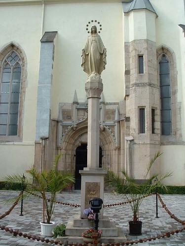Szepsi, Mária-szobor