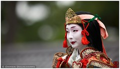 Tomoe Gozen, Jidai festival, Kyoto (Damien Douxchamps) Tags: japan 日本 japon kansai 関西 kinki 近畿 kyoto 京都 imperialgarden 京都御苑 時代祭 jidai festival matsuri tomoe gozen