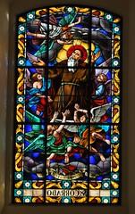 Noto (Sicilia-Italia). Catedral de Noto. Vidriera. San Corrado (santi abella) Tags: noto sicilia italia vidrieras