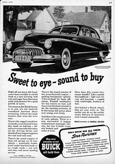 1947 Buick Roadmaster 4-Door Sedan (aldenjewell) Tags: 1947 buick roadmaster 4door sedan ad