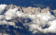 over slovenian alps (2) (kexi) Tags: slovenia europe alps mountains clouds rocks flying over aerial windowseat samsung wb690 september 2015 instantfave