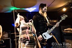 Ruby Shock (Alicia Lffler) Tags: ruby shock goldmarks stuttgart 21st century man scorched earth live gig concert photography