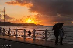 PASEOS... (ANAIGP) Tags: mar marcantbrico salinas asturias asturies castrilln atardecer paisaje