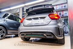 Mercedes -Benz Clase A 250 Motorsport PETRONAS Edition - Mod.2016 - 218 c.v - Gris Montaña