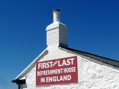 Take a break a  (First and last...) (krinkel) Tags: uk gb cornwall landsend gasthaus restaurant pause break inn canon