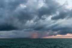 Storm in Black Sea (DVchigarev) Tags: storm clouds sky dark ahadows birds sochi russia canon 70d 24105 l usm sunset subtropical sea seaport december winter