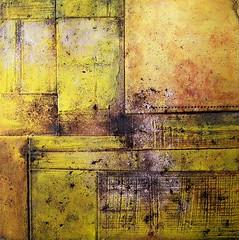 """""""Untitled (N° 51)"""", mixed media by Cezary Gapik (CEZ-ART) Tags: cezarygapik abstract mixedmedia relief texture art"""
