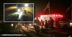 13yo Girl Shot in the Face, Tribal Elder in Critical Condition as Police Assault DAPL Protesters (hoodhollywood) Tags: 13yo girl shot face tribal elder critical condition police assault dapl protesters