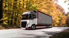 Volvo F.lli Bosio Run Autumn (birsu.fanel) Tags: volvo flli bosio run autumn truck render