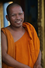 The first picture from Cambodia (renrut) Tags: buddhistmonk