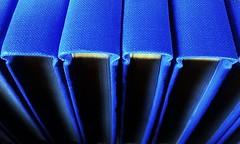 Big Blue Books (esala.kaluperuma) Tags: books blue art esala kaluperuma librarybooks
