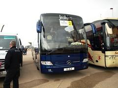 Jeakins 5JLX (JBF Photography) Tags: jeakins 5jlx bn08hnt blackpool mercedes benz tourismo