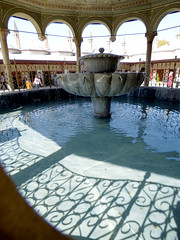 Konya - Mevlana Turbesi, courtyard ablutions fountain (3) (damiandude) Tags: rumi dervish sufi