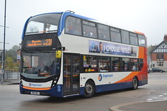 Stagecoach Manchester 10608 SN16OWJ (Will Swain) Tags: ashtonunderlyne bus station 29th october 2016 ashton under lyne buses transport travel uk britain vehicle vehicles county country england english greater manchester city centre north west stagecoach 10608 sn16owj