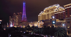PARISIAN (hailjoyce) Tags: macau parisian tower light night photography colors city hotel