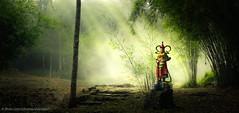 The guardian (Xversion1) Tags: bamboo smoke nature mist saint helltemple sunlight cold tre green chùađịangục cloud light statue travel forest ray lanh sky fog trip may tamđảo god anhsangmattroi bautroi bầutrời clouds khoi khói mây rung rừng suong suongkhoi sương sươngkhói thiên tianang tianắng troi trời vân xanh xanhlacay xanhlácây ánhsángmặttrời tttamđảo vĩnhphúc vietnam vn
