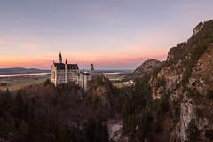 Neuschwanstein castle (faczanadam) Tags: neuschwanstein germany sunset castle