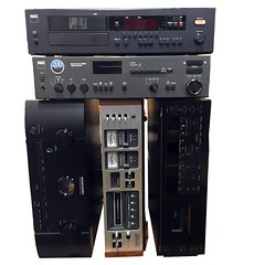 ELECTRICAL:  NAD, Marantz, Wollensak receivers, CD players etc...