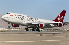 Virgin Atlantic 747-400 G-VROM (birrlad) Tags: lasvegas las mccarran international airport nevada usa aircraft aviation airplane airplanes airline airliner airlines airways approach arrival arriving finals landing runway boeing b747 b744 747 747400 747443 gvrom vs43 london gatwick