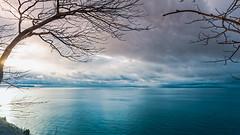 The Sheltering Sky (downstreamer) Tags: claycliffs lakemichigan leelanau landscape leland michigan unitedstates