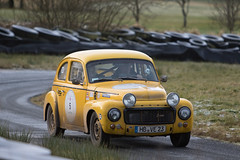 HERO LE JOG Rally 2016 (<p&p>photo) Tags: 5 yellow 1964 60s 1960s volvopv544 volvo pv544 andreasvonengelbrechten vonengelbrechten von engelbrechten franzbuettner buettner track kames circuit rally sport auto retro vehicle classics classiccars classiccar classic car motorsport historicendurancerallying organisation historicendurancerallyingorganisation historic endurance rallying hero december 2016 december2016 worldcars
