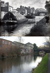 Red Lion Bridge, Maghull, 1939 and 2016 (Keithjones84) Tags: liverpool oldliverpool maghull merseyside thenandnow history localhistory rephotography