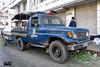 Bangladesh Police (DMP) Toyota Land Cruiser 70 pickup. (Samee55) Tags: bangladesh police dmp pickup toyota land cruiser dhaka 2016 carspotting