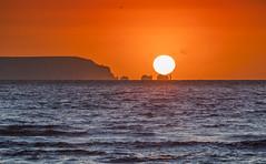 Needles Sunrise (nicklucas2) Tags: needles seascape isleofwight solent sun wave sea lighthouse sunrise