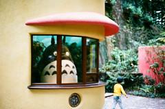 Ghibli Museum, Tokyo (square(tea)) Tags: nikon50mmf14ais nikon miyazakihayao ghiblimuseum fe2 nikkor50mmf14ais film 50mmf14   xtra400  superiaxtra400    nikkor tokyo japan fujifilm
