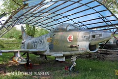 FIAT G91R 31+78 GERMAN AIR FORCE (shanairpic) Tags: preserved museum merseburg jetfighter fiatg91 germanairforce luftwaffe