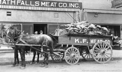 Photo of the Week  Dec. 15, 2016  Klamath Falls Meat Co. (klamathmuseum) Tags: klamath falls history meat market beef pork