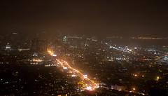 Market from Twin Peaks (Peter Snarr) Tags: sf sanfrancisco street city urban landscape lights long exposure market baybridge