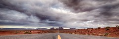 Utah Mile 13 - explore #3 (Marvin Bredel) Tags: sky clouds utah us highway bravo desert infinity roadtrip explore navajo monumentvalley 163 forrestgump coloradoplateau ushighway163 lowpov leadingline canoneos5dmarkii marvinbredel utahmile13 gumppoint
