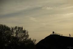Odd man out) (Ani ♠ Melikyan) Tags: park sky silhouette oddmanout