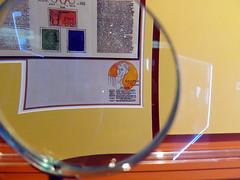Selo Olimpadas 1944 (De Santis) Tags: brazil brasil museum canon 2000 museu centro sydney s games caixa olympic berlim cultural jogos alemanha exposio selo s100 tocha medalha olimpadas fernandodesantis