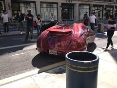 Gumball Rally London Regent Street 2014 (mangopulp2008) Tags: street london car rally area kit 51 regent gumball 2014 etv etvarea51kitcar