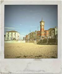 The Clock Tower, Morecambe (Squatbetty) Tags: sun clock beach sunshine coast seaside sand bluesky lancashire clocktower morecambe listedbuilding morecambebay