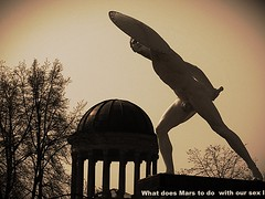 What does Mars have to do with our sex lives? (bernawy hugues kossi huo) Tags: red people mars berlin sex germany glamour energy anger passion planet motivation lives mythology ambition determination impulse initiation influence discipline expressing