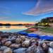 Sunset at Lake Putrajaya Wetland
