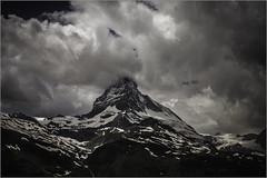 Matterhorn Drama (johnr71) Tags: mountain alps berg switzerland suisse zermatt matterhorn wallis valais cervin cervino