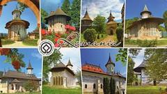 Painted churches of northern Moldavia, Romania (caijsa's postcards) Tags: churches romania worldheritage multiview