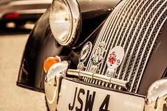 Morgan Roadster (technodean2000) Tags: uk classic car sepia wales nikon south convertible retro morgan roadster lightroom llandow d5200