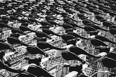 swarm (mu-photography) Tags: blackandwhite bw abstract airport 100v10f cart swarm schwechat wienschwechat 35faves