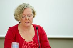 Gabrielle Calaminus, anterior presidenta de la Sociedad  Internacional de Oncología Pediátrica