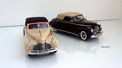 1941 Chevrolet Special DeLuxe Convertibles (JCarnutz) Tags: chevrolet deluxe 1941 diecast 124scale danburymint