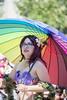 "Vancouver Pride Parade 2014 - 0042 (gherringer) Tags: summer music shells canada vancouver fun happy bc pride parade colourful vanpride ""west rainbowumbrella end"""
