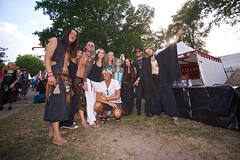OMNIA @ Castlefest 2014 (Erwin van Dijck) Tags: dance concert die drum guitar folk percussion live stage steve jenny performance flute rob we warrior ra kokopelli didgeridoo until epona pagan sic fee huri dearth omnia cernunnos didge overtone castlefest daphyd paganfolk slideridoo bawu satrya
