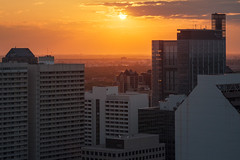 Manitoba Hydro (bryanscott) Tags: sunset canada building architecture downtown winnipeg cityscape manitoba