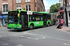Arriva Midlands 5004 BX04MXH (Andy4014) Tags: bus leicester shrewsbury midlands arriva citaro unilinx bx04mxh